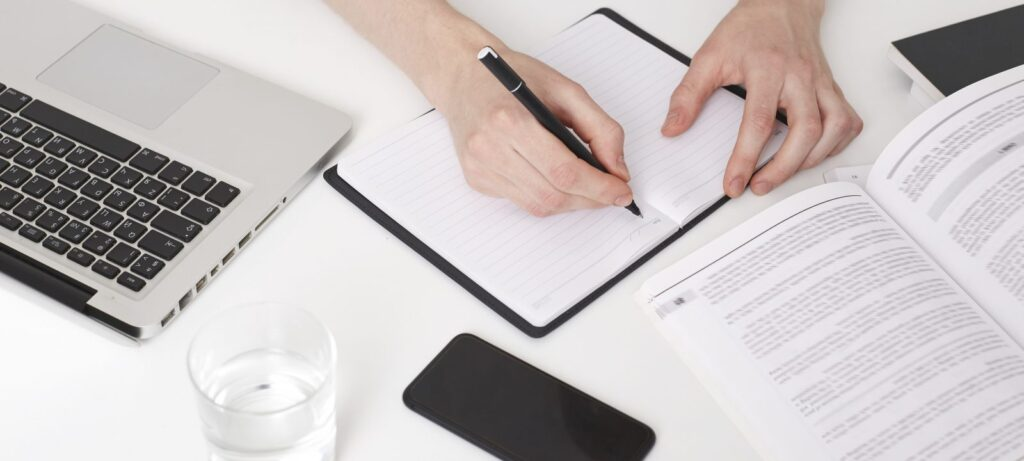 cách học bài mẫu writing
