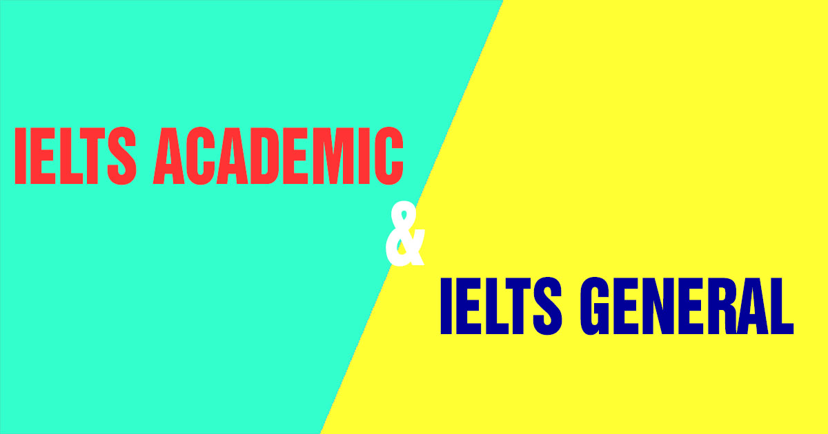 academic va ielts general