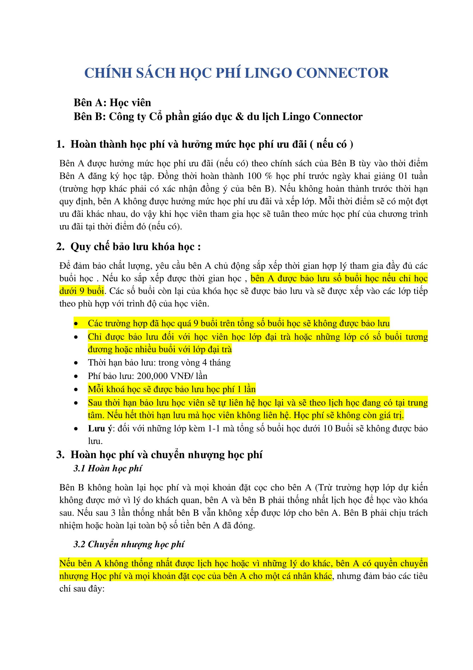 CHÍNH SÁCH HỌC PHÍ - CHUYỂN NHƯỢNG - BẢO LƯU LINGO 2-converted-1