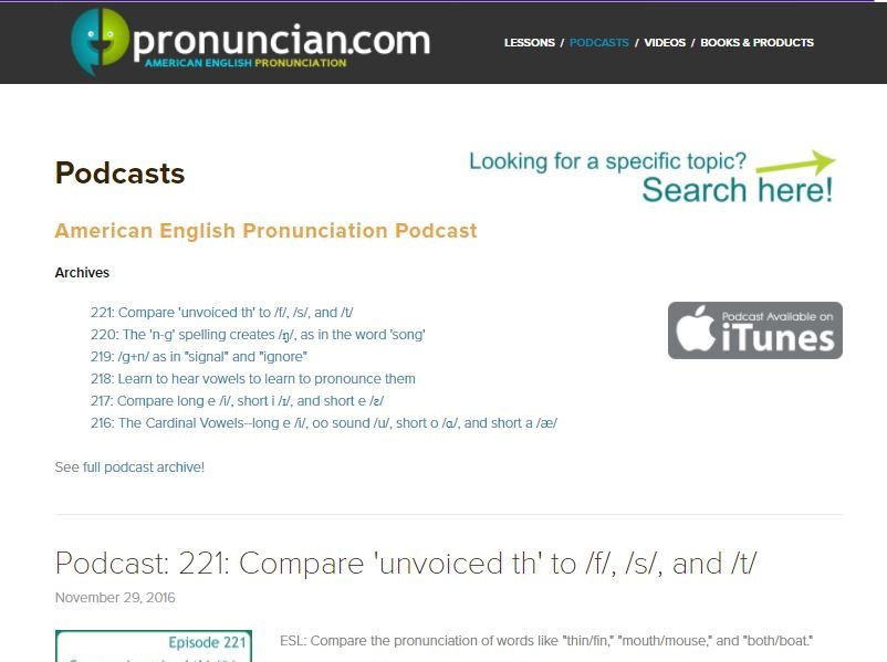 American-English-Pronunciation-Podcast